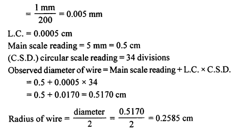 A New Approach to ICSE Physics Part 1 Class 9 Solutions Measurements and Experimentation 31.1