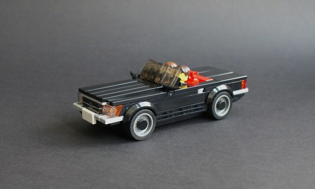 Mercedes-Benz R107 Commission
