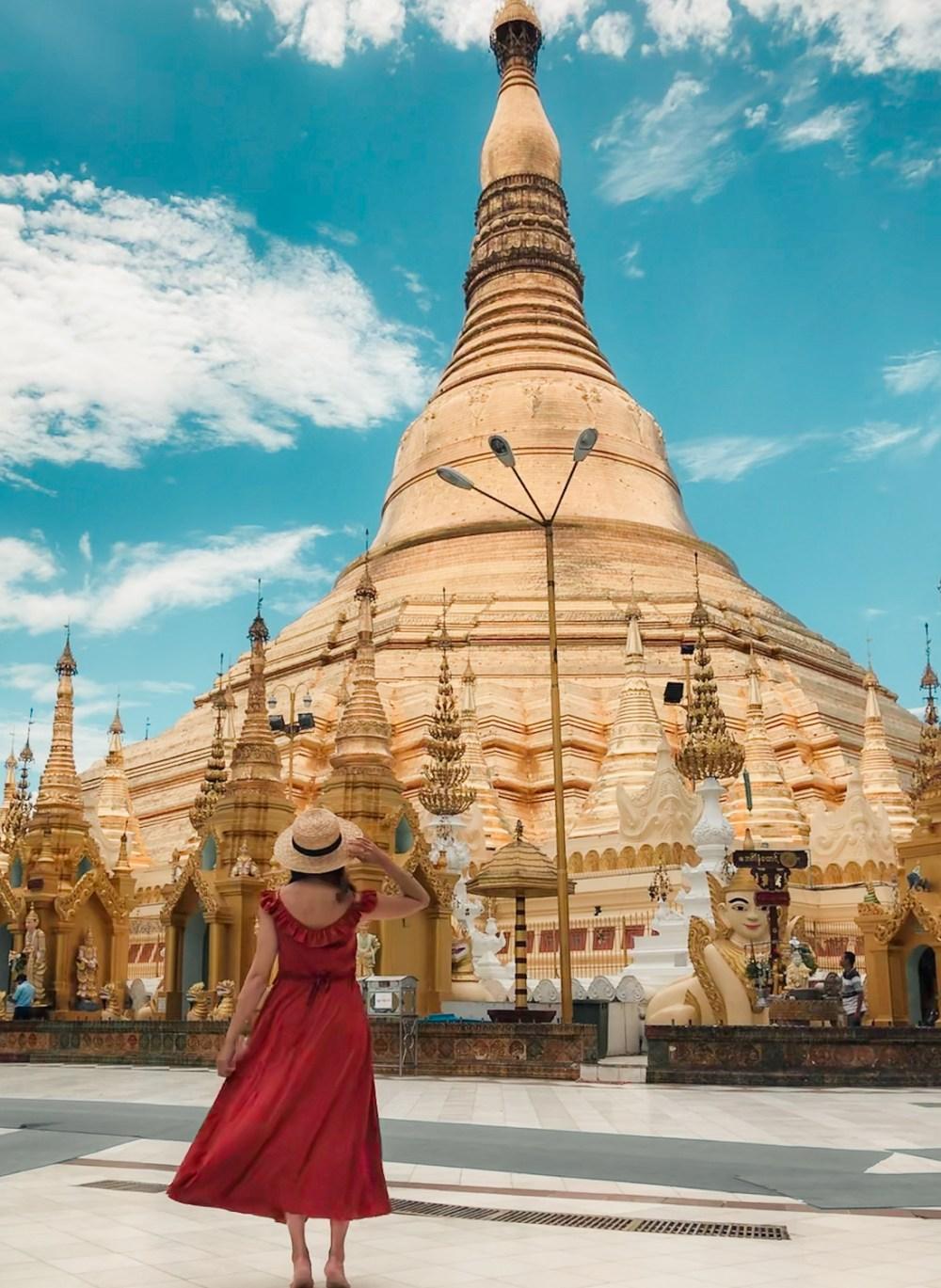 Shwedagon Pagoda Sule Myanmar Yangon-12