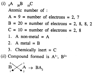New Simplified Chemistry Class 9 ICSE Solutions - Atomic Structure and Chemical Bondin 8