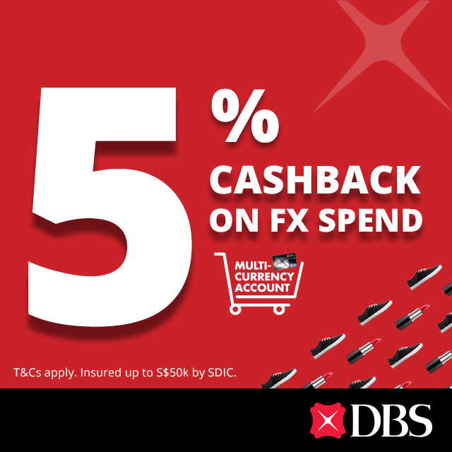 DBS Multi-Currency Account Helps You Save on Online Shopping - missuschewy
