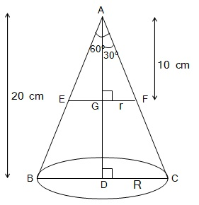 NCERT Book Solutions For Class 10 Maths Hindi Medium Surface Areas and Volumes 13.1 56