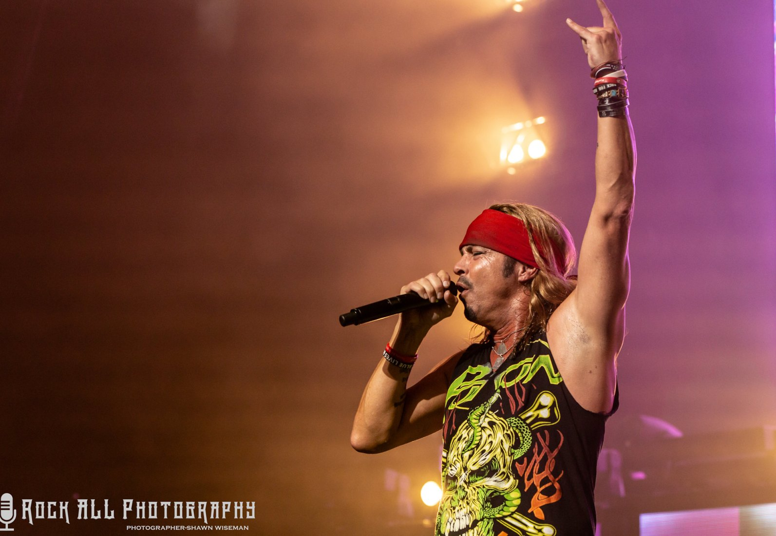 Poison - Riverbend Music Center Cincinnati, OH - June 2018