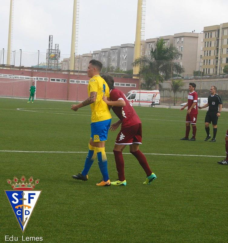 Las Palmas Atlético 0-1 SFCD (jornada 7, 01-10-2017)