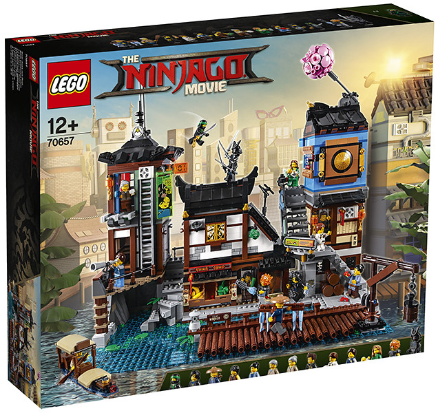 70657 - Ninjago City Docks - box