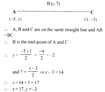 Selina Concise Mathematics Class 10 ICSE Solutions Chapter 13 Section and Mid-Point Formula Ex 13B 14