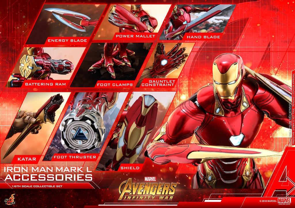 Hot Toys – ACS004 –《復仇者聯盟3:無限之戰》鋼鐵人馬克50 配件包 Iron Man Mark L Accessories   玩具人Toy People News
