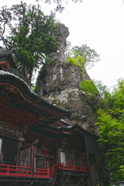 Haruna Jinja Shrine, 'Misugataiwa' Appearance Rock (Gunma, Japan)