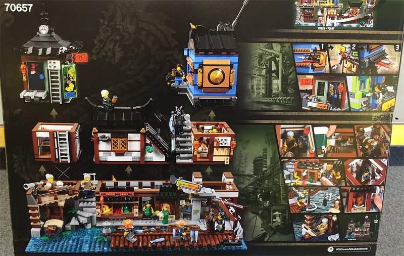 70657 - Ninjago City Docks - back