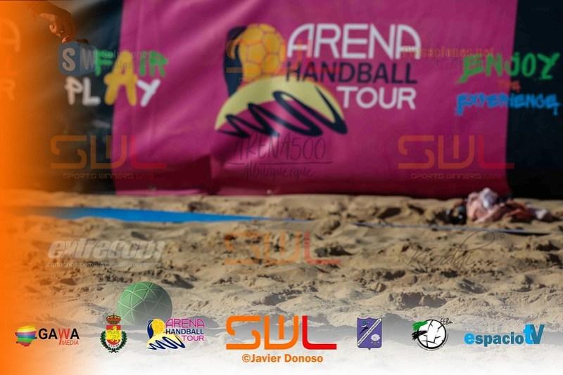 BALONMANO PLAYA ARENA500 2018 ALBURQUERQUE JORNADA SABADO 7-7-18