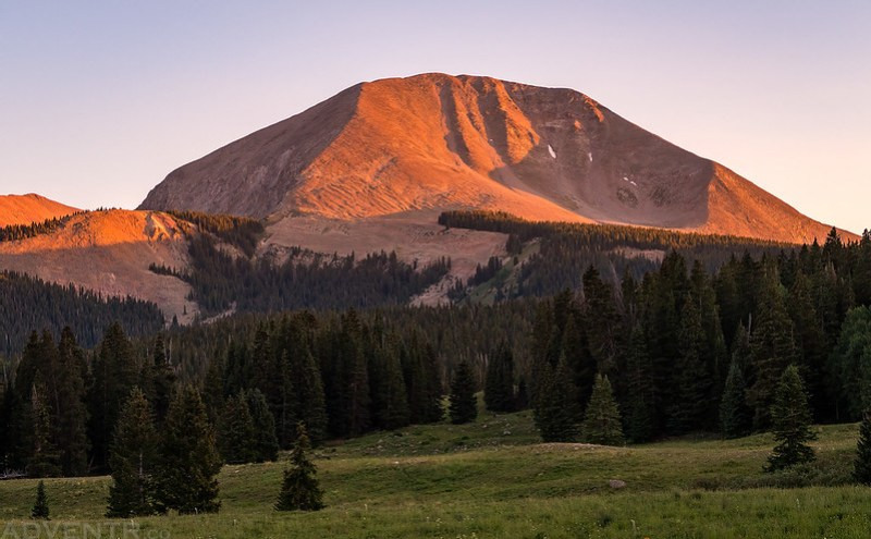 Mount Mellenthin Sunset