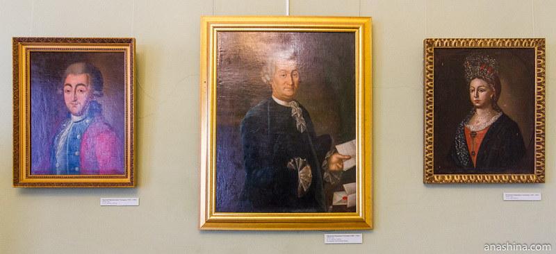Николай Афанасьевич Гончаров (1741-1785), Афанасий Абрамович Гончаров (1699-1784), Екатерина Андреевна Гончарова (1744-1814)