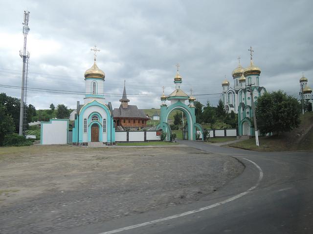 Красногорский мужской монастырь в честь Всех Святых