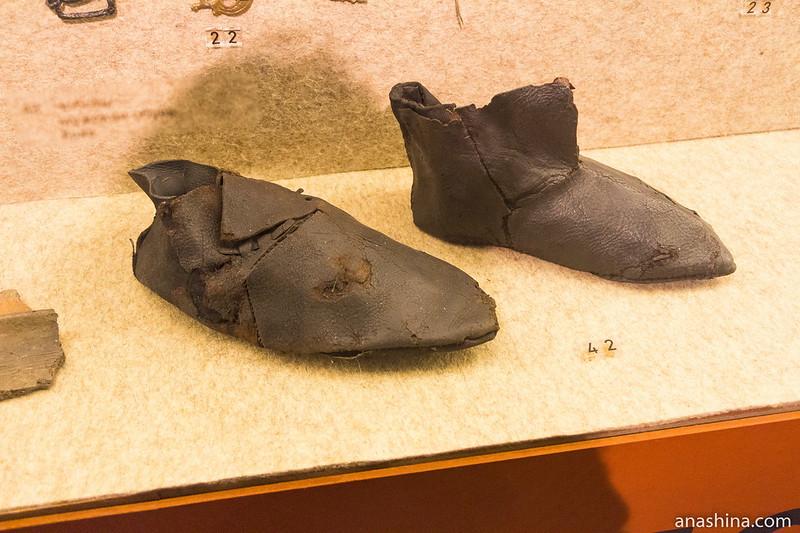 Кожаная обувь, Музей Москвы