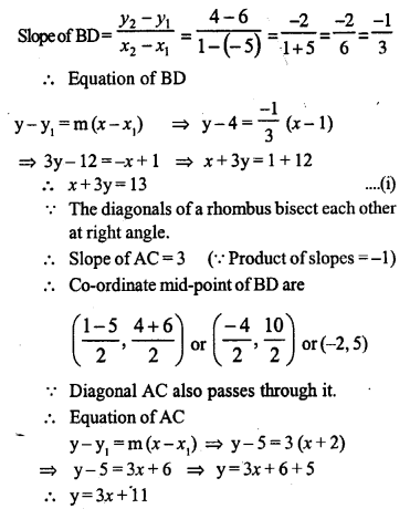 Selina Concise Mathematics Class 10 ICSE Solutions Chapter 14 Equation of a Line Ex 14D 17