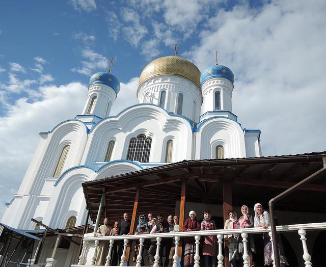 Кафедральный Крестовоздвиженский собор в Ужгороде