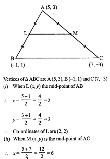 Selina Concise Mathematics Class 10 ICSE Solutions Chapter 13 Section and Mid-Point Formula Ex 13B 3