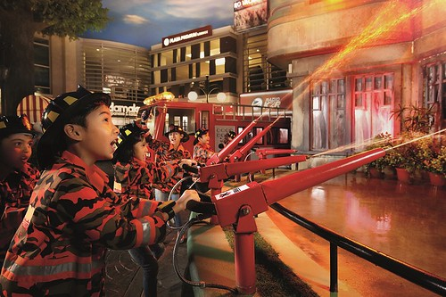 Image_KidZania KL_Firefighter Roleplay
