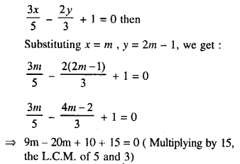 Selina Concise Mathematics Class 10 ICSE Solutions Chapter 14 Equation of a Line Ex 14A 5