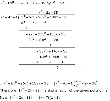 NCERT Solutions for Class 10 Maths Chapter 2 Polynomials 36