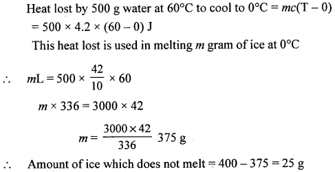 A New Approach to ICSE Physics Part 2 Class 10 Solutions Calorimetry