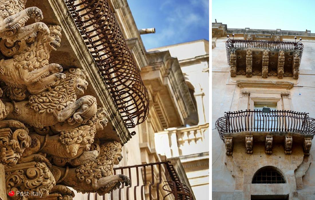 Noto, cidade barroca na Sicília