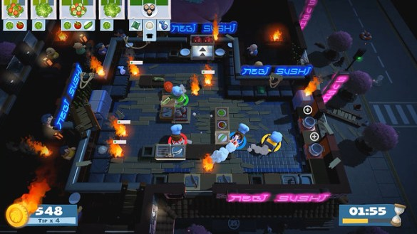 Overcooked 2- Night Stage