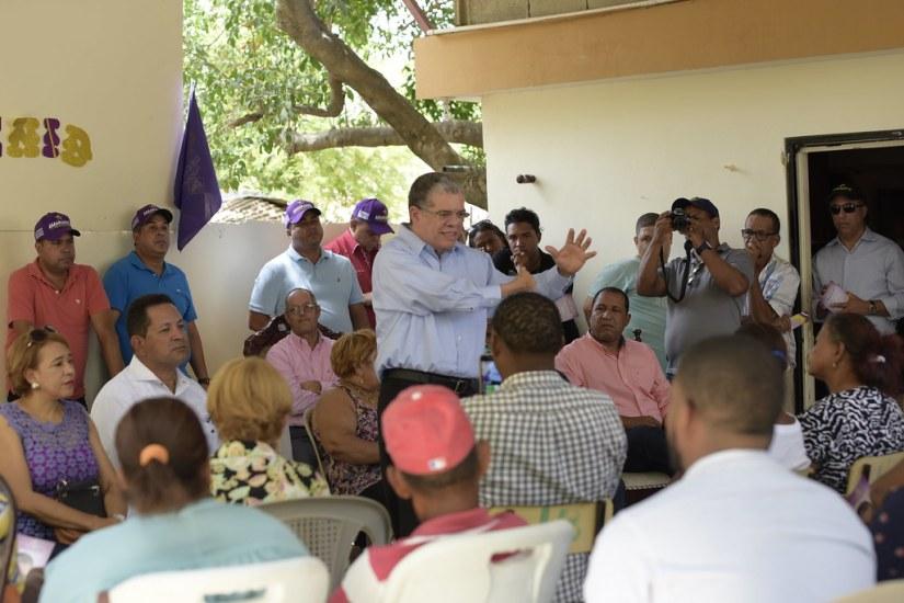 Visita Villa Vasquez, Montecristi 28 de julio 2018