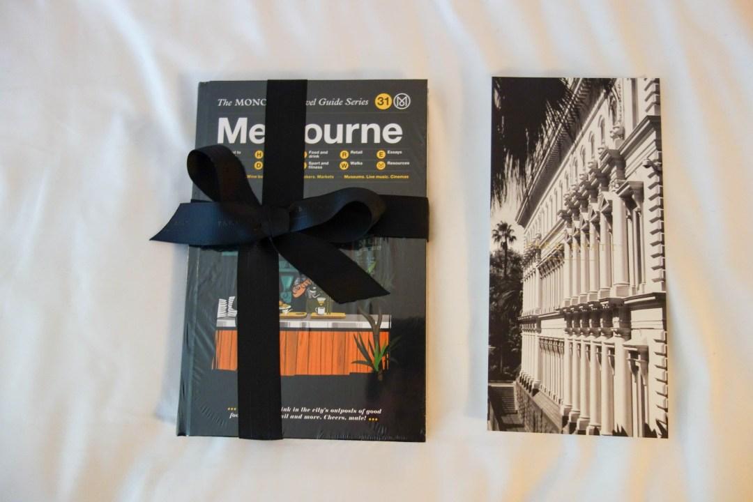Gift from Park Hyatt Melbourne
