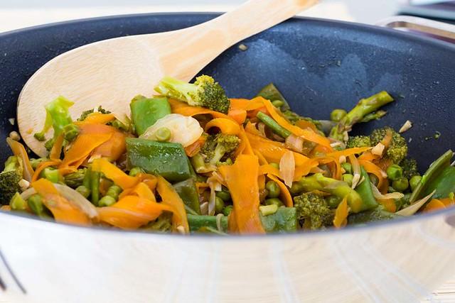 Salteado de verduras