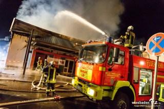 Großbrand Baumarkt Limburg 18.04.18