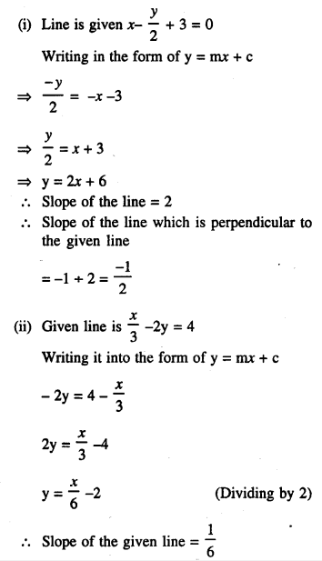 Selina Concise Mathematics Class 10 ICSE Solutions Chapter 14 Equation of a Line Ex 14D 5