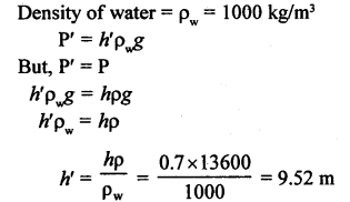A New Approach to ICSE Physics Part 1 Class 9 Solutions Pressure in Fluids.08