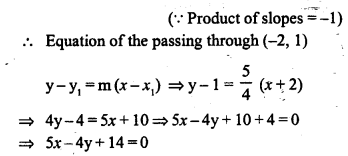 Selina Concise Mathematics Class 10 ICSE Solutions Chapter 14 Equation of a Line Ex 14D 14.1