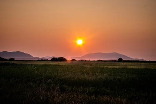 Skagit Sunset over Orcas Island-002