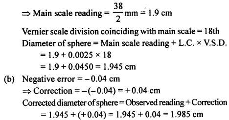 A New Approach to ICSE Physics Part 1 Class 9 Solutions Measurements and Experimentation 25