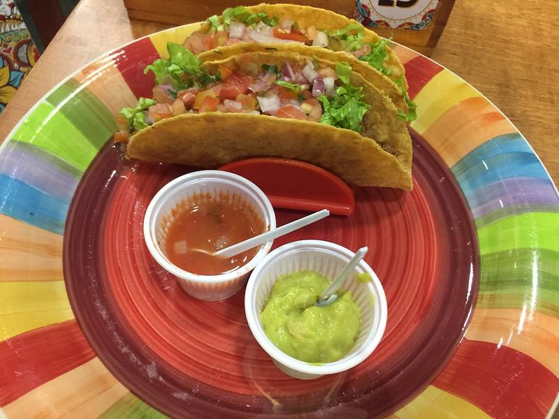 Opções veganas no Escalantes Tex Mex