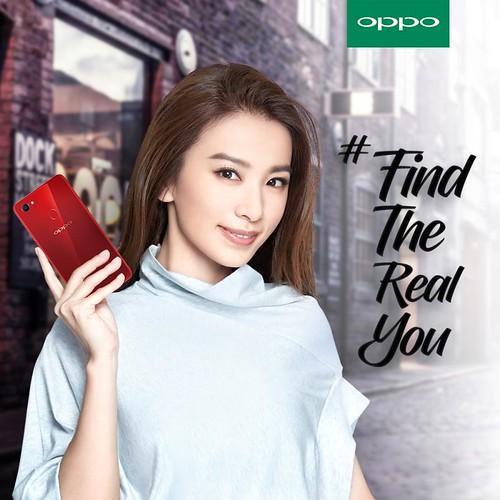 OPPO F7 Product Ambassador-HebeTien