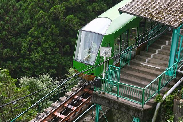 Ohyama Cable Car(Ohyama Sightseeing Railway, Kanagawa, Japan)