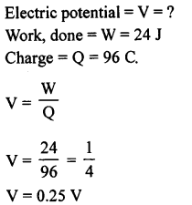 A New Approach to ICSE Physics Part 1 Class 9 Solutions Electricity and Magnetism - 1 15.1