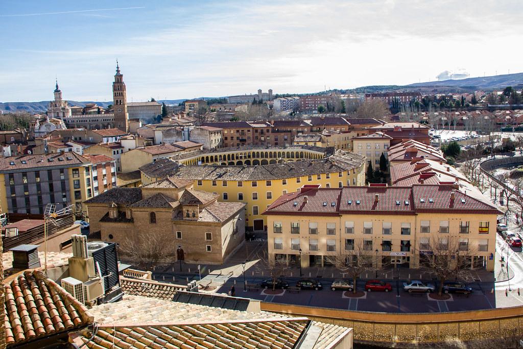 Vista de La Plaza de Toros Vieja y Tarazona Zaragoza 02