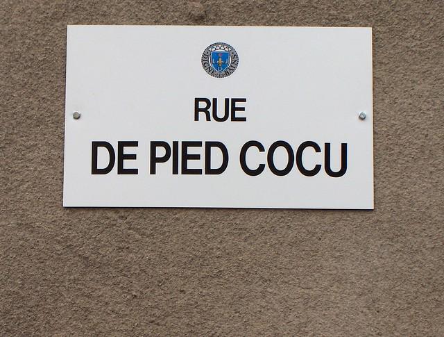 Rue du Pied-Cocu à Digne