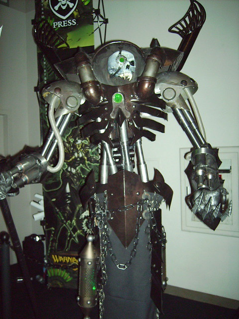 Privateer Press Scary Robot Skeleton Flickr Photo Sharing