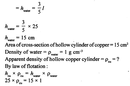 A New Approach to ICSE Physics Part 1 Class 9 Solutions Archimedes' Principle..0015