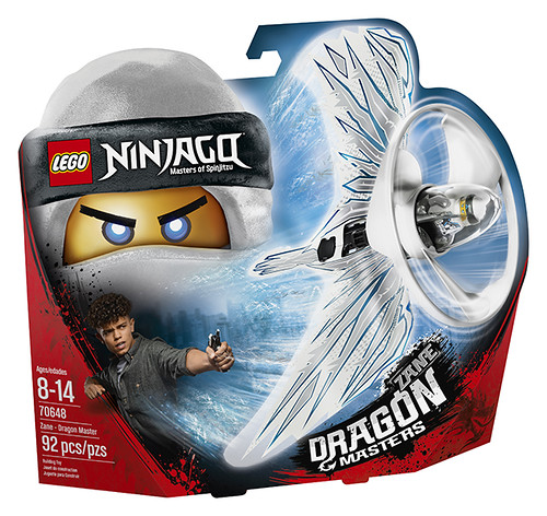70648 - Zane Dragon Master - box