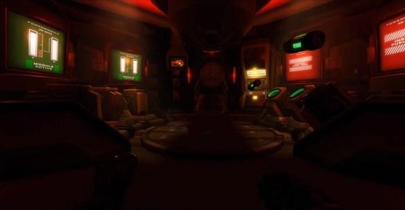 Downward Spiral Horus Station - Red Room