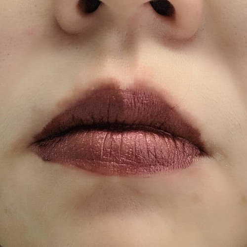Palladio on lips