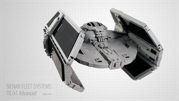Darth Vader's TIE/x1 Advanced