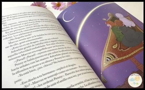 Libro Penny Berry y el anillo de Shazzam. Reseña