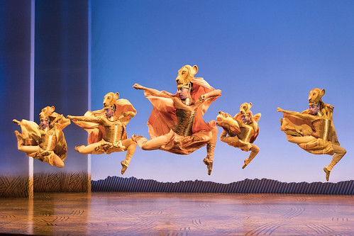 Lionesses Dance in THE LION KING North American Tour ©disney. Photo by Deen van Meer. From We Just Can't Wait...Why You Need to See the Lion King On Tour